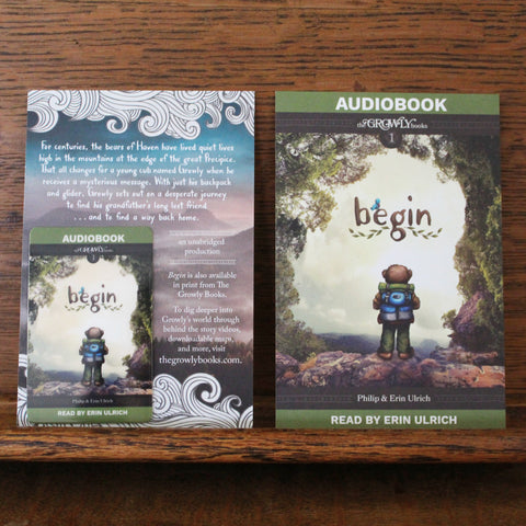 Begin AudioBook Download Card (Physical Product, New Cover Design)