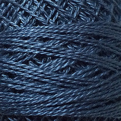 112 Dusty Blue - Solids #12 Perle Cotton