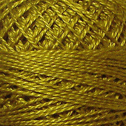 152 Gold - Solids #12 Perle Cotton