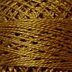 154 Deep Antique Gold - Solids #12 Perle Cotton
