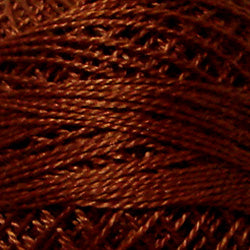 1643 Red Brown Medium - Solids #12 Perle Cotton