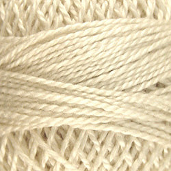 4 Ivory - Solids #12 Perle Cotton
