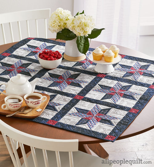 Quilt Sampler Kit - Table Setting