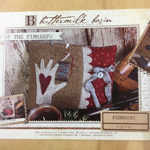 Buttermilk Basin Year of the Pinkeeps Kit - February/Heart&Hand