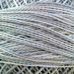 O122 Sky Gray - Variegated #12 Perle Cotton