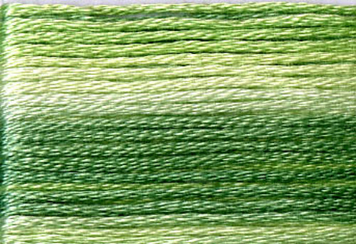 8012 Greens Variegated Floss