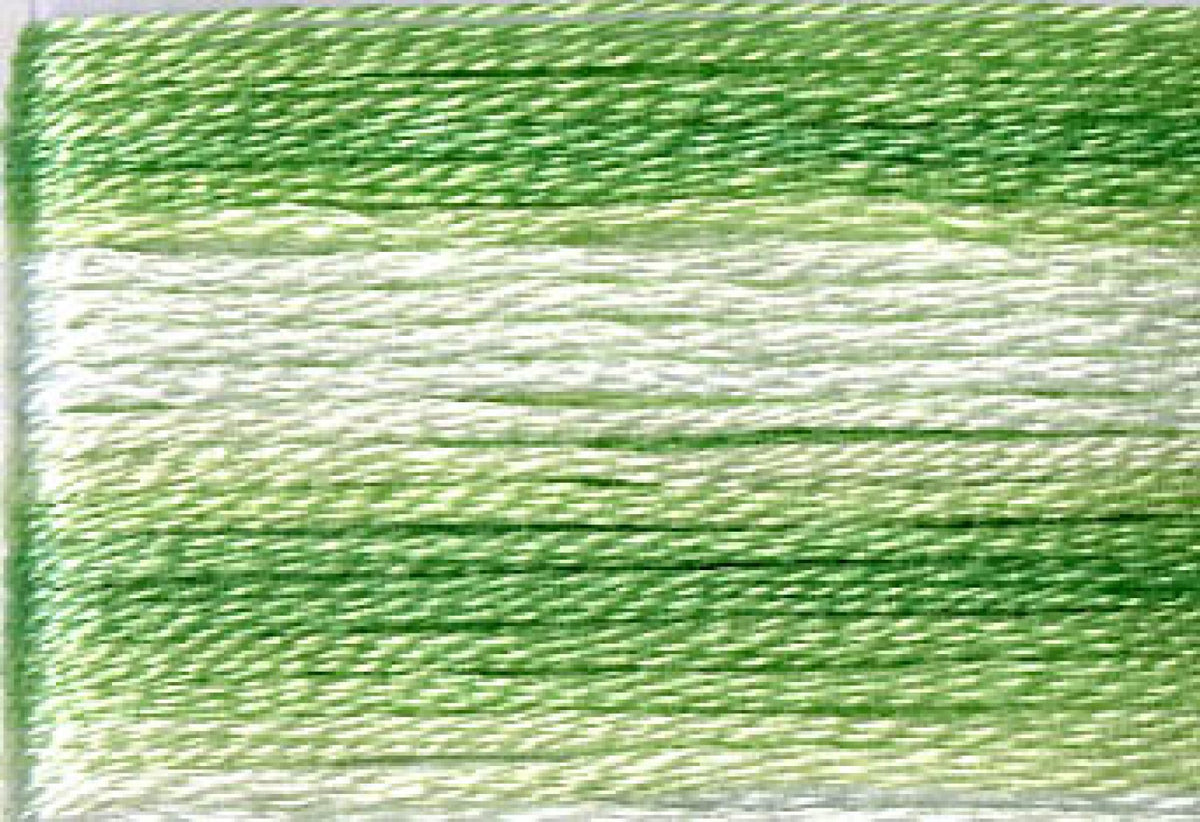 8013 Greens Variegated Floss