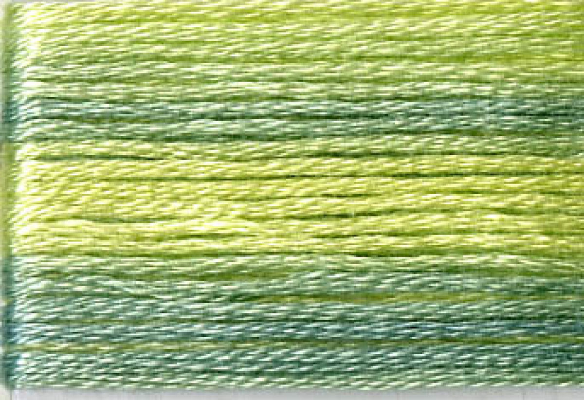 8014 Greens Variegated Floss