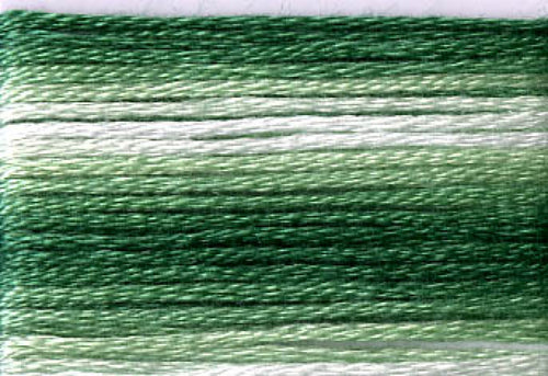 8023 Greens Variegated Floss