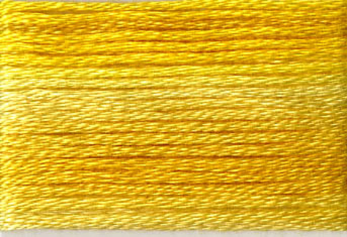 8028 Yellows Variegated Floss