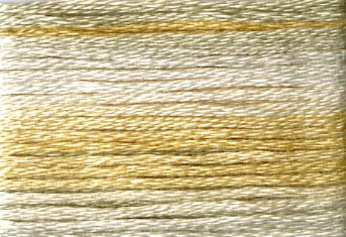 8030 Yellow Beige Variegated Floss