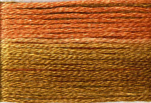 8048 Light Brown Rusts Variegated Floss