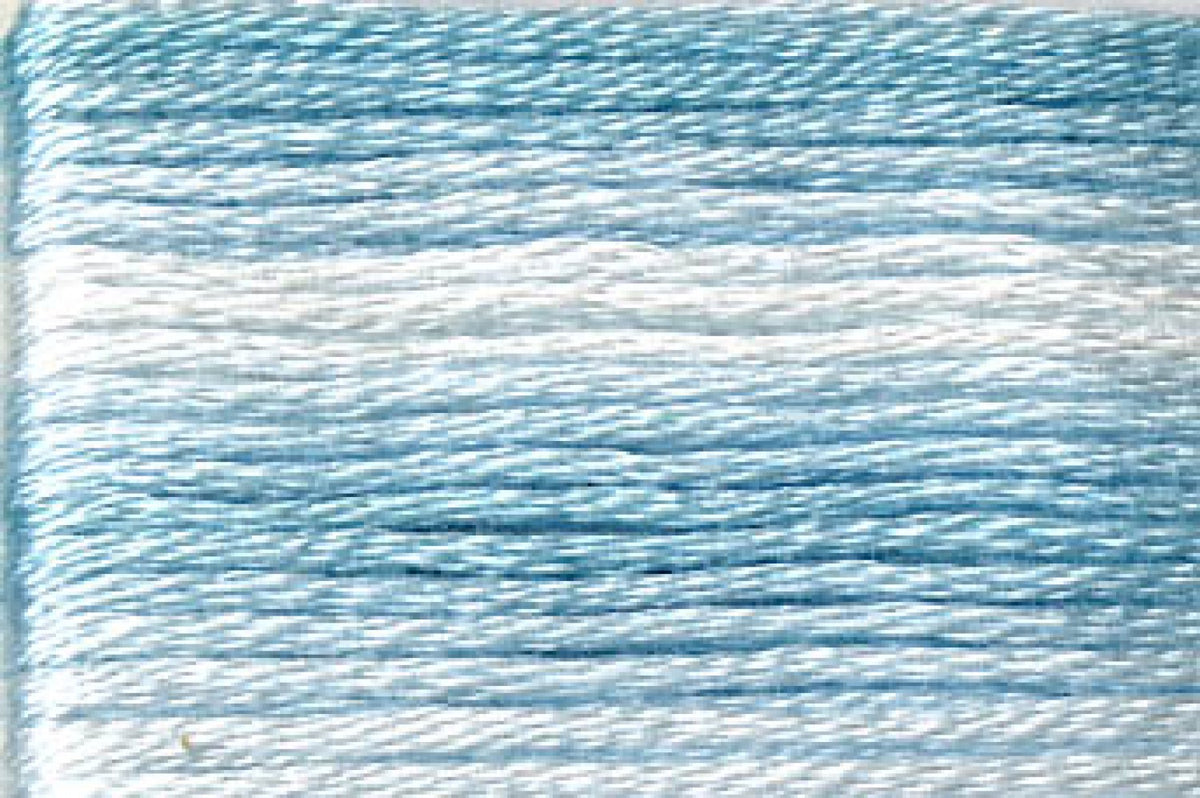 8051 Blues Variegated Floss