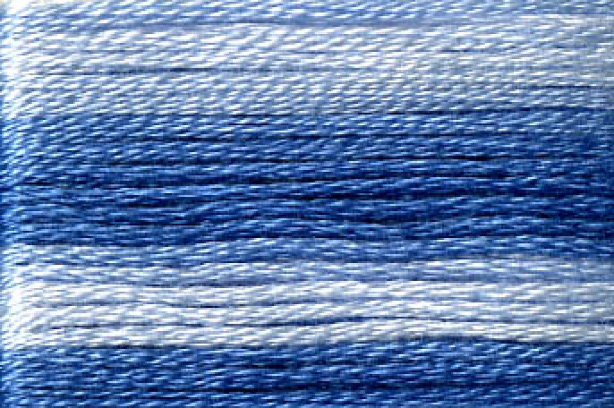 8052 Blues Variegated Floss