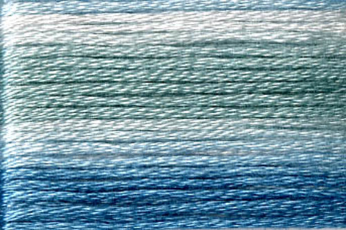 8054 Blues Variegated Floss