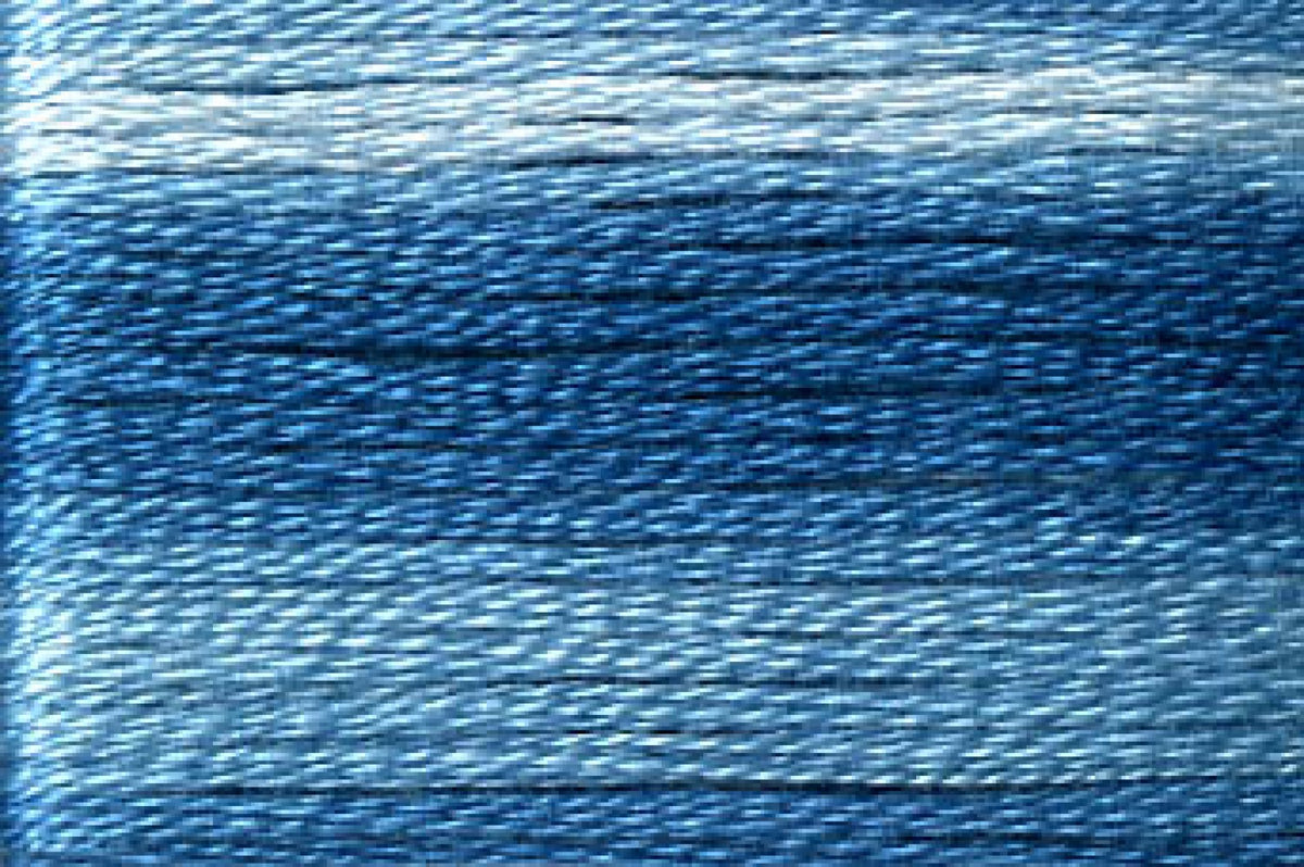 8055 Blues Variegated Floss