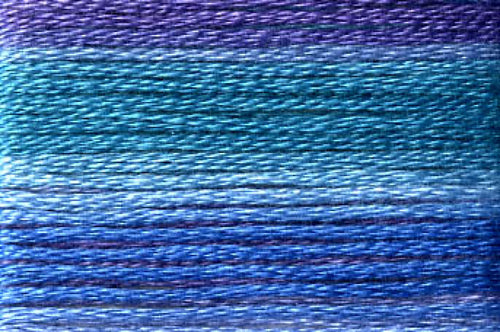8056 Blues Purples Variegated Floss
