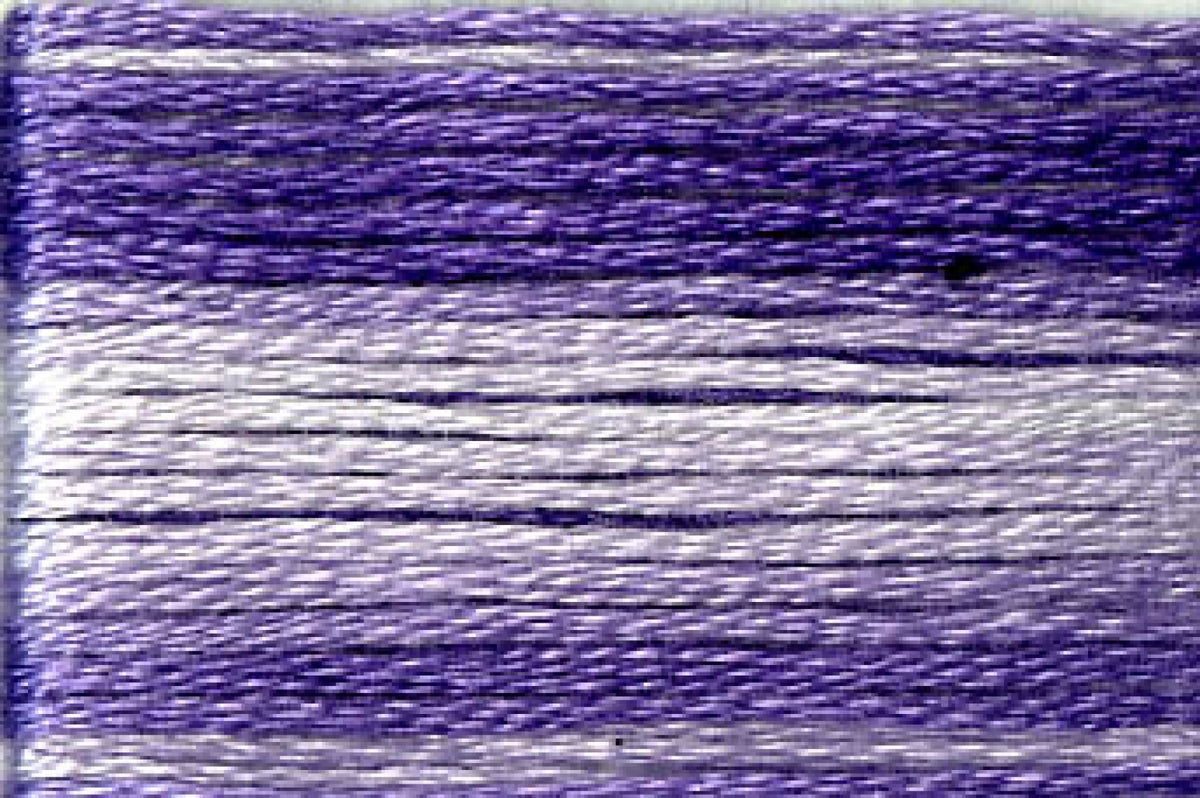 8067 Purples Variegated Floss