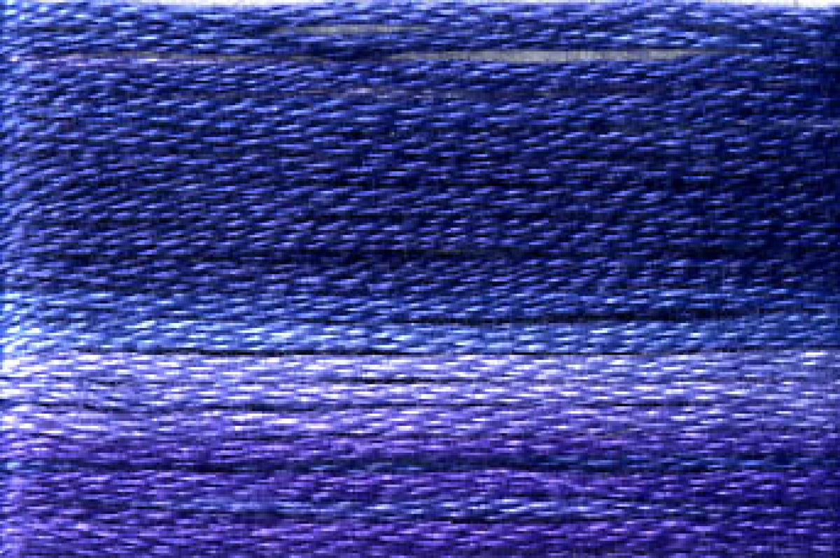 8068 Dark Blues Purples Variegated Floss