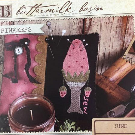 Buttermilk Basin Year of the Pinkeeps Kit - June/Strawberry