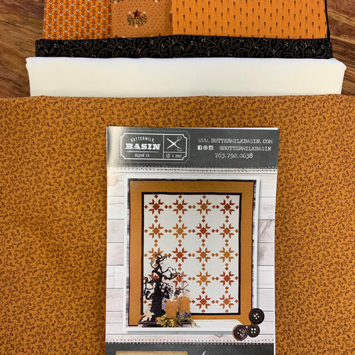 Pumpkin Spice Quilt Kit - Buttermilk Basin Pattern