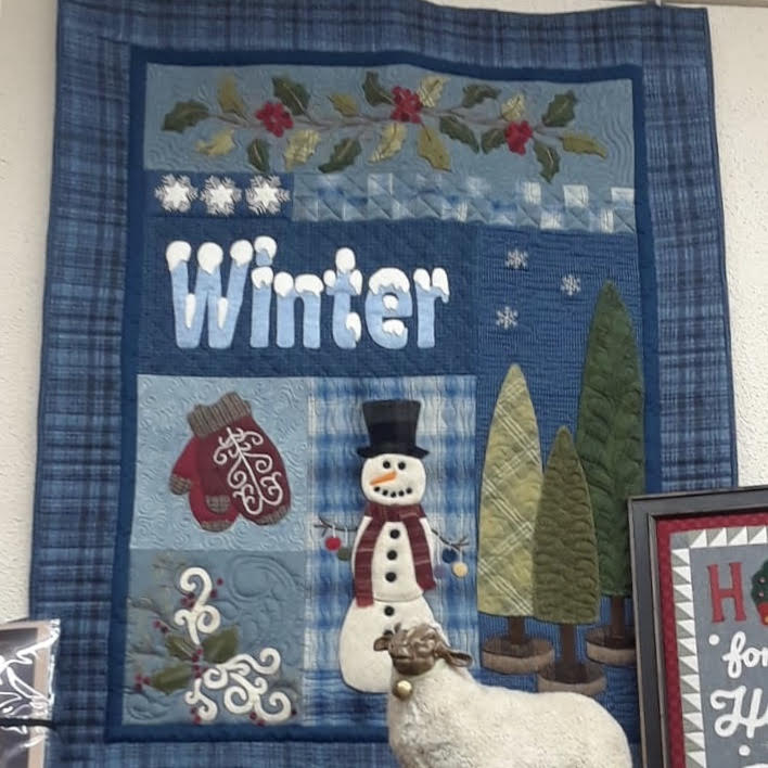 WINTER Wool on Flannel Quilt Kit - The Woolen Needle