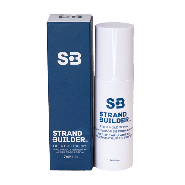 Strand Builder Intro Kit | Fibers, Fiber Hold Spray, Hairline Optimizer & Spray Applicator.