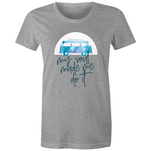 Load image into Gallery viewer, Watercolour My Soul Made Me Do It T Shirt