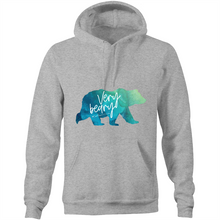 Load image into Gallery viewer, Watercolour Beary Hoodie