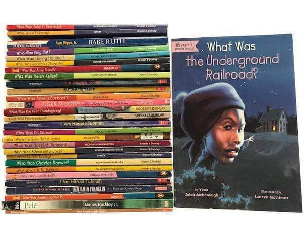The Who Was Biography Series: A Children's Chapter Book Series Overview