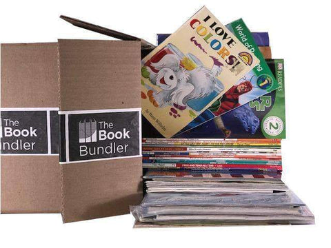 bulk boxes of kids books sold by the book bundler