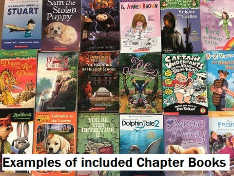 Kids Chapter Books, Magic treehouse, junie b jones and other popular children's books