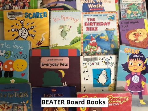 Beater baby board books sold by the book bundler