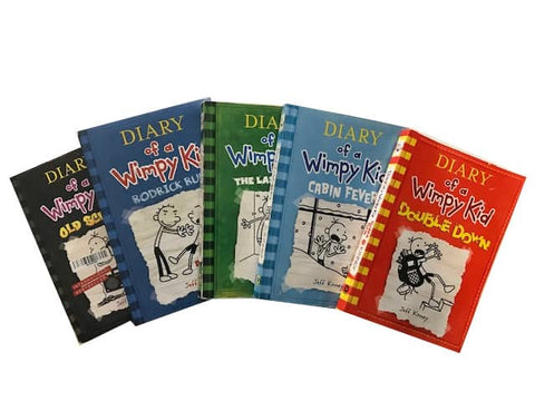 Diary of a Wimpy Kid children's chapter books cheap