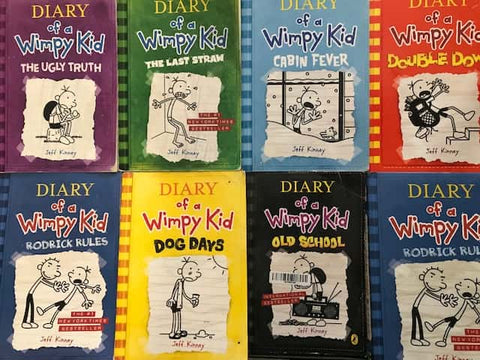 Diary of a Wimpy Kid childrens chapter books cheap