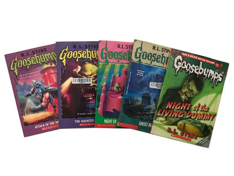 goosebumps kids chapter books series sold by the book bundler