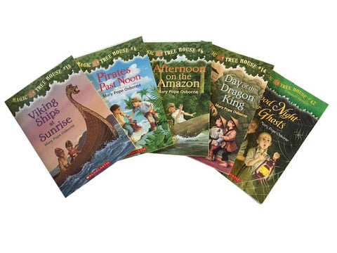 Children's Chapter Books Magic Treehouse cheap boxes