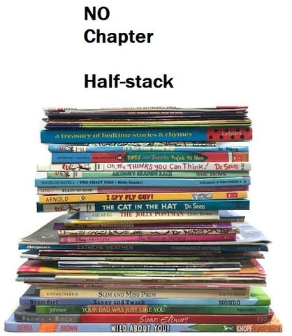 No chapter box of books half-stack sold by the book bundler