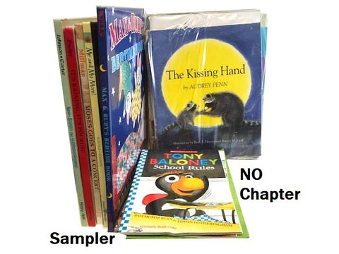 cheap children's books by the box sampler size