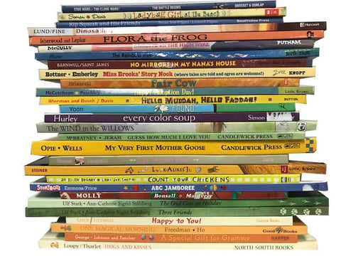 cheap children's large illustrated hardcover books sold by the book bundler