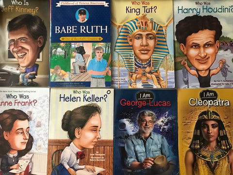 who was is kids biographies chapter books