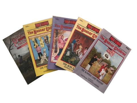 cheap discount children's chapter boxcar children books sold by the book bundler