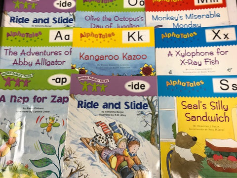 scholastic alphatales and phonics tales books discount sold by the book bundler