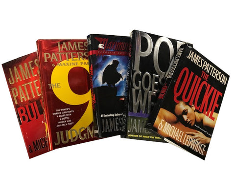 Books by James Patterson sold by the book bundler