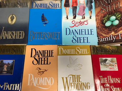 Books by Danielle Steele sold by the book bundler