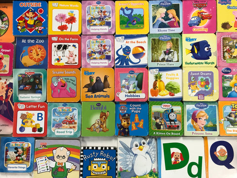 mini baby board books sold by the book bundler