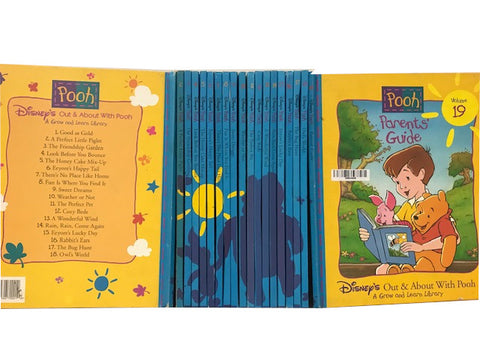 winnie the pooh complete grow and learn library books set sold by the book bundler