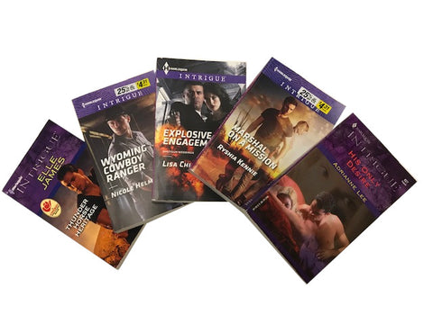 harlequin romance intrigue and suspense sold by the book bundler