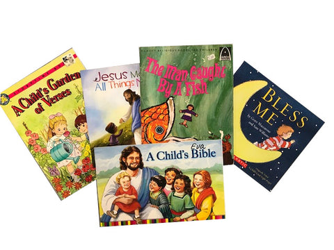 christian kids small paperback books