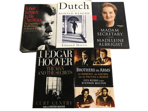 political nonfiction hardcovers for adult